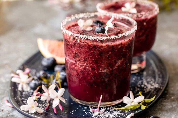 Frozen Blueberry Paloma | halfbakedharvest.com