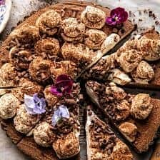 Old Fashioned Chocolate Cream Pie.