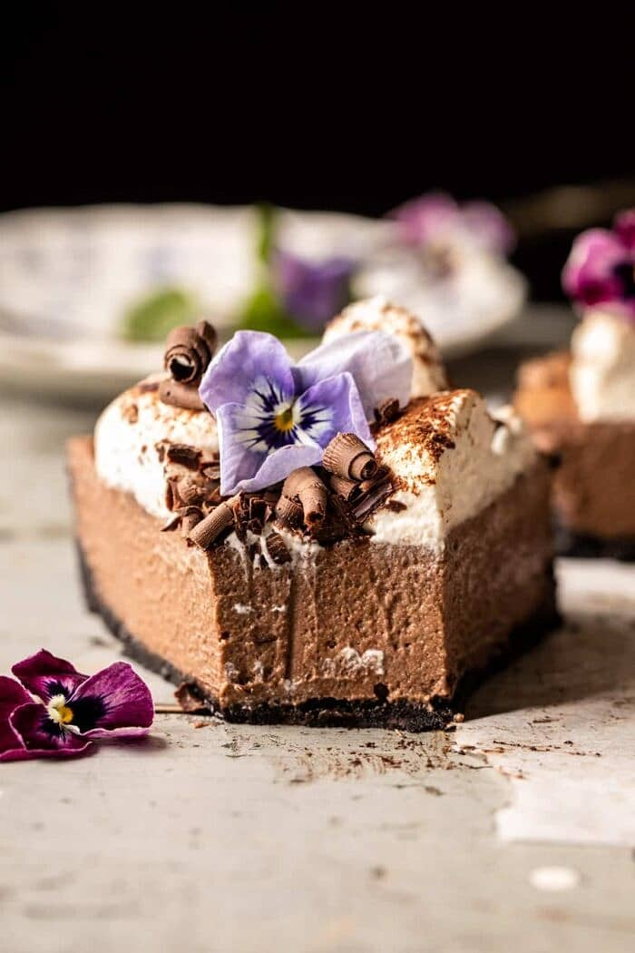 Old Fashioned Chocolate Cream Pie | halfbakedharvest.com