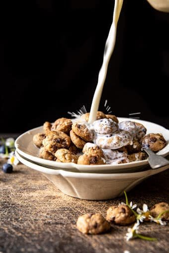 Homemade Oatmeal Chocolate Chip Cookie Crisp Cereal | halfbakedharvest.com