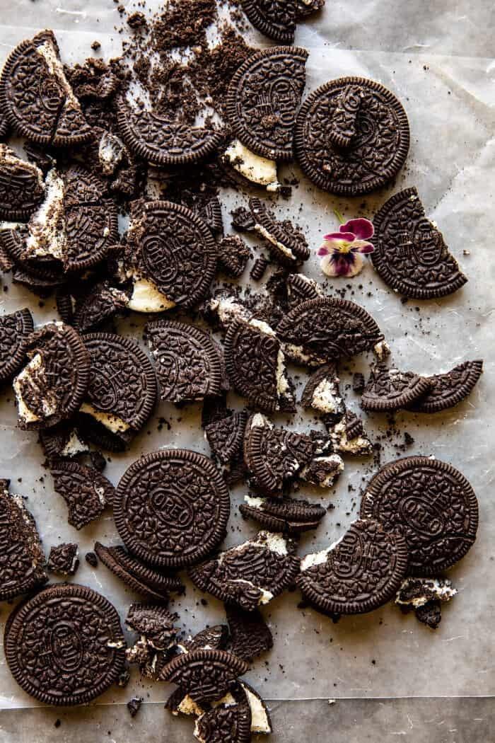 prep photo of oreo cookies
