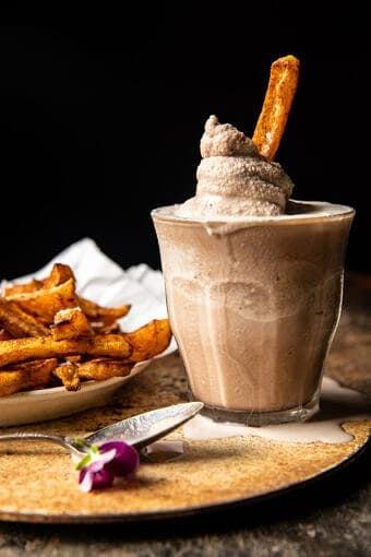 Homemade Chocolate Frosty | halfbakedharevst.com