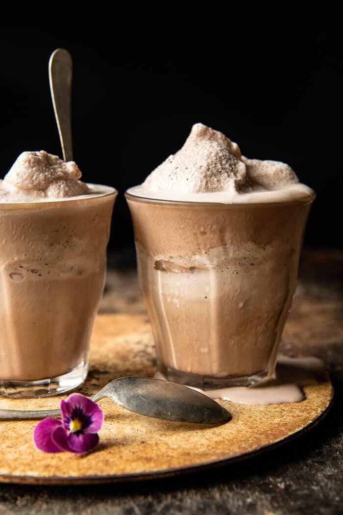 Homemade Chocolate Frosty | halfbakedharvest.com