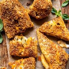Cheesy Buffalo Chicken Strombolis   halfbakedharvest.com
