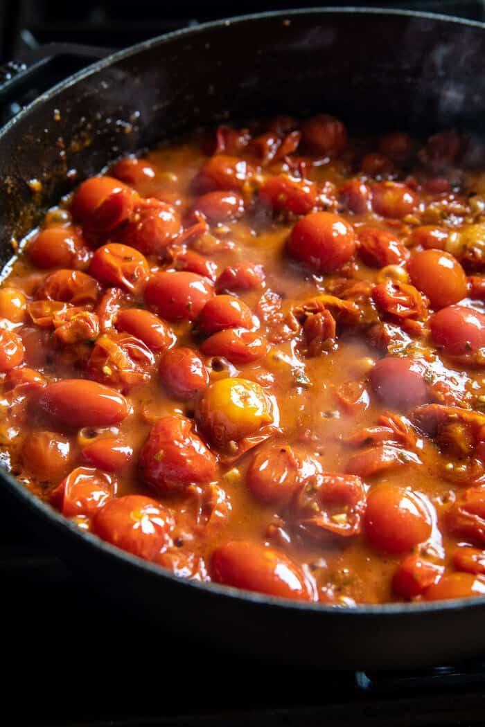 Cherry Tomato Pasta Alla Vodka   halfbakedharvest.com