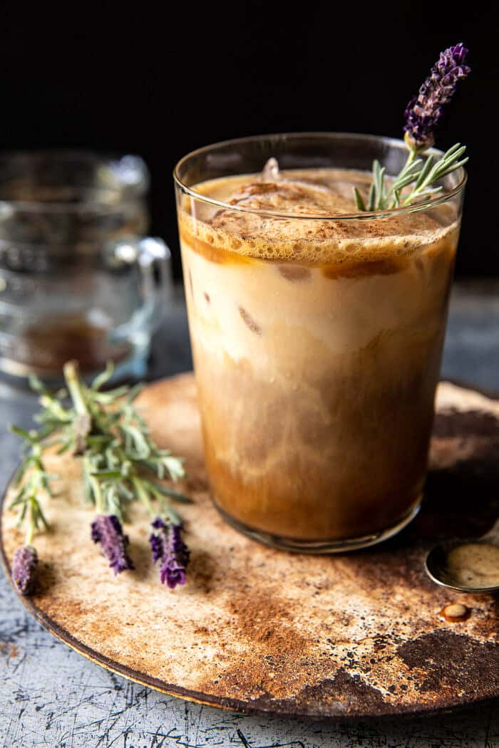 Iced Brown Sugar Latte with Shaken Espresso   halfbakedharvest.com