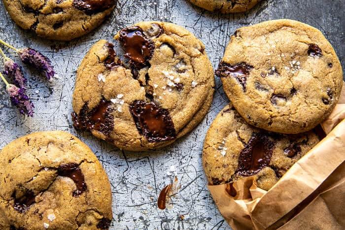 Vegan Double Chocolate Chunk Cookies   halfbakedharvest.com
