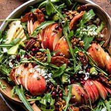 Autumn Harvest Honeycrisp Apple and Feta Salad | halfbakedharvest.com