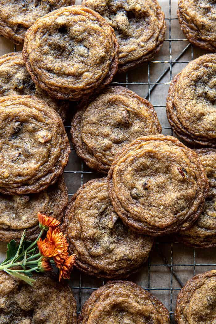 Chewy Brown Sugar Maple Cookies | halfbakedharvest.com