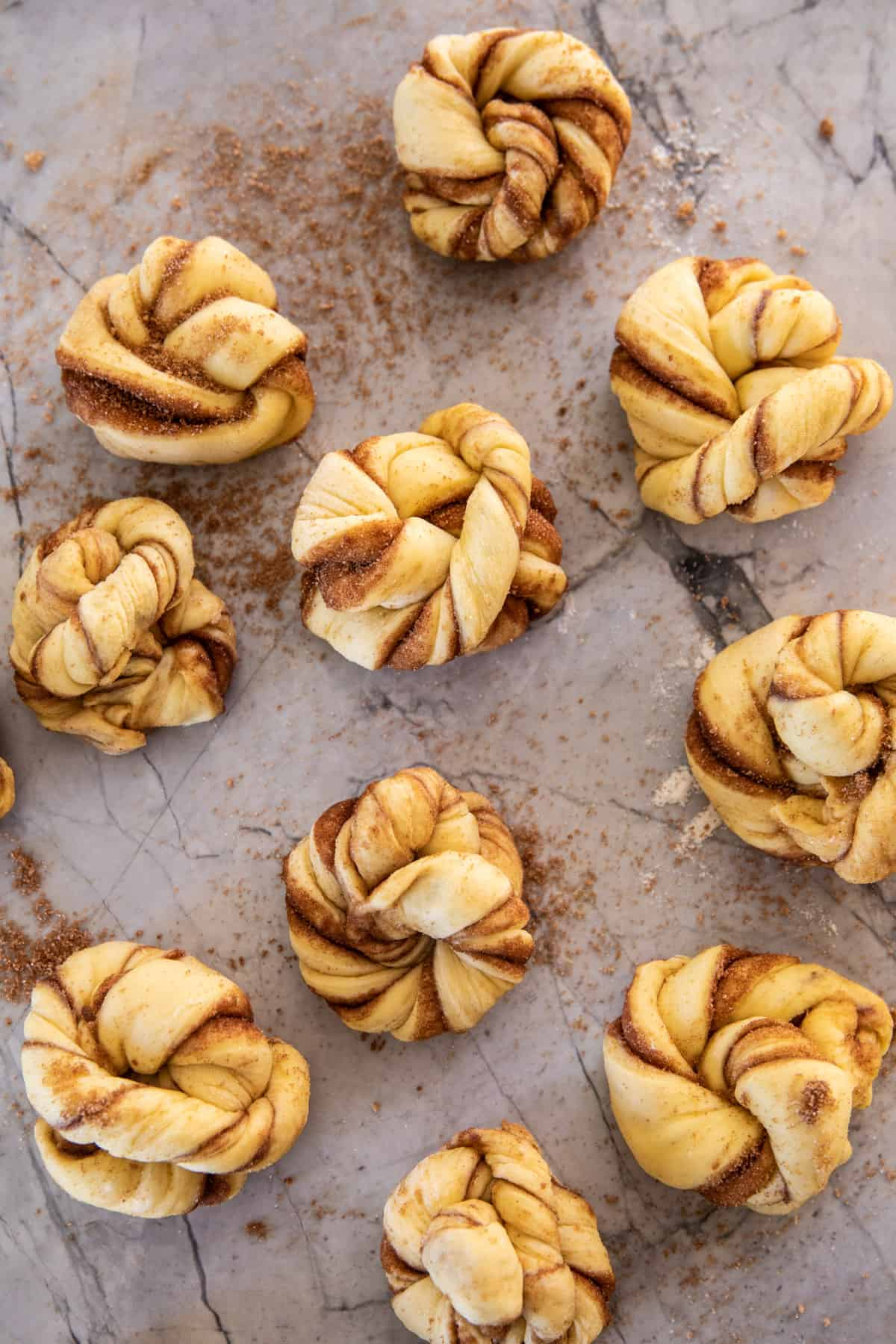 Cinnamon Knots with Coffee Icing | halfbakedharvest.com