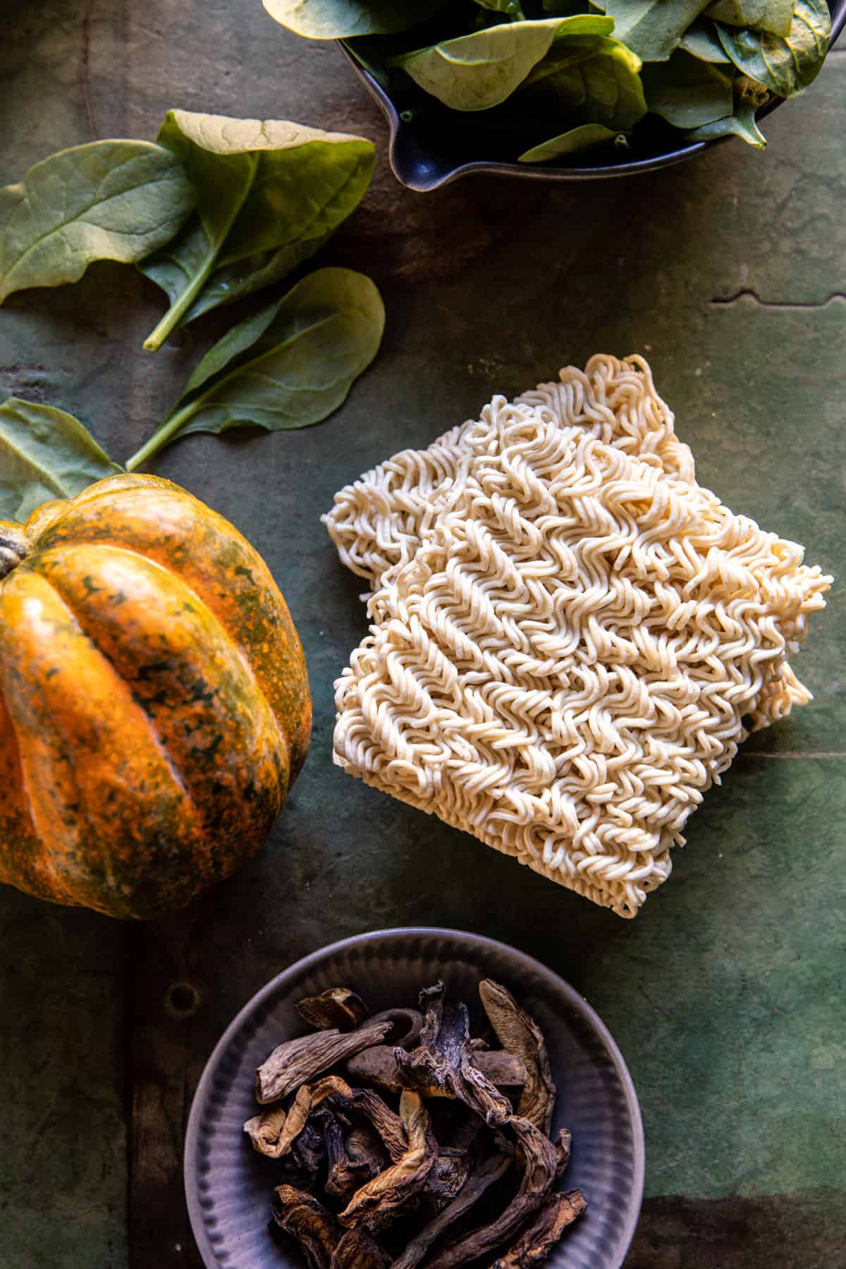 Easy Ginger Chicken and Spinach Ramen   halfbakedharvest.com