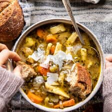 Homestyle Chicken Noodle Soup | halfbakedharvest.com