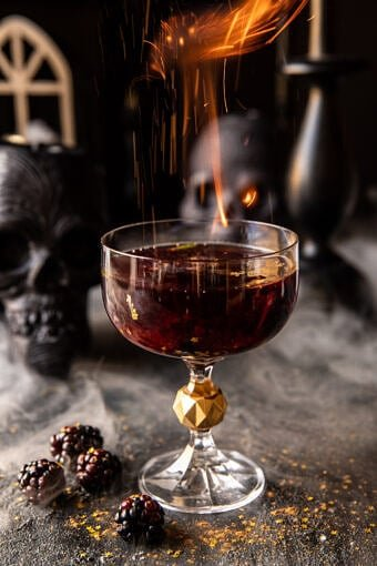 The Goblet of Fire Cocktail | halfbakedharvest.com