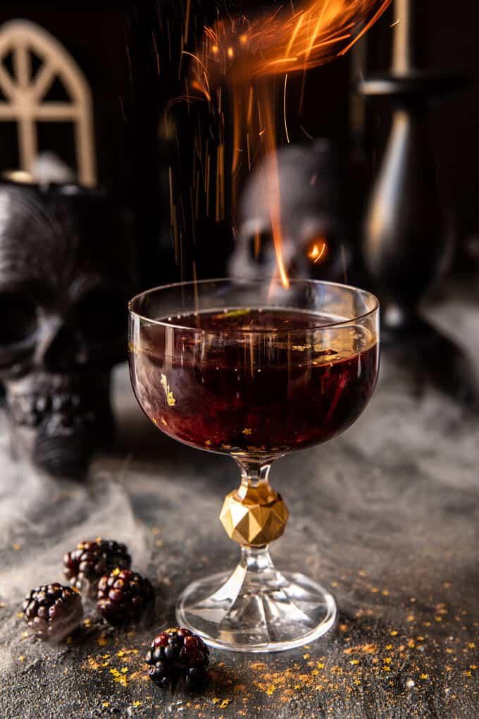 The Goblet of Fire Cocktail   halfbakedharvest.com